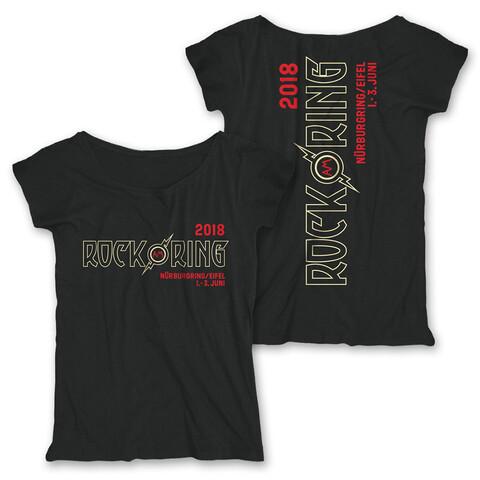 Outline Logo - early bird von Rock am Ring Festival - Girlie Shirt Loose Fit jetzt im Rock am Ring Telekom Magenta Shop