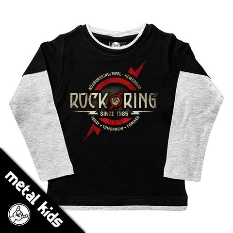 √Logo 2018 von Rock am Ring Festival - Kids Longsleeve jetzt im Rock am Ring Telekom Magenta Shop
