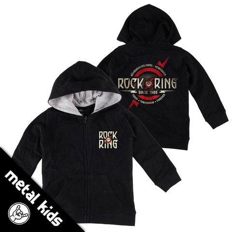 √Logo 2018 von Rock am Ring Festival - Children's hooded jacket jetzt im Rock am Ring Telekom Magenta Shop