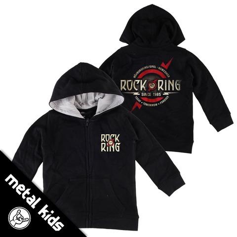 √Logo 2018 von Rock am Ring Festival - Kinder Kapuzenjacke jetzt im Rock am Ring Telekom Magenta Shop