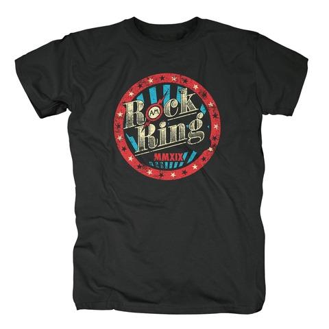 √Star Circle Logo von Rock am Ring Festival - T-Shirt jetzt im Rock am Ring Telekom Magenta Shop
