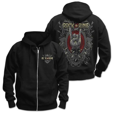 √Rock Crest von Rock am Ring Festival - Hooded jacket jetzt im Rock am Ring Telekom Magenta Shop