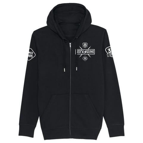 √35 Years - Today Tomorrow Forever von Rock am Ring Festival - Hooded jacket jetzt im Rock am Ring Telekom Magenta Shop