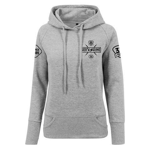 √35 Years - Today Tomorrow Forever von Rock am Ring Festival - Girlie hooded sweater jetzt im Rock am Ring Telekom Magenta Shop