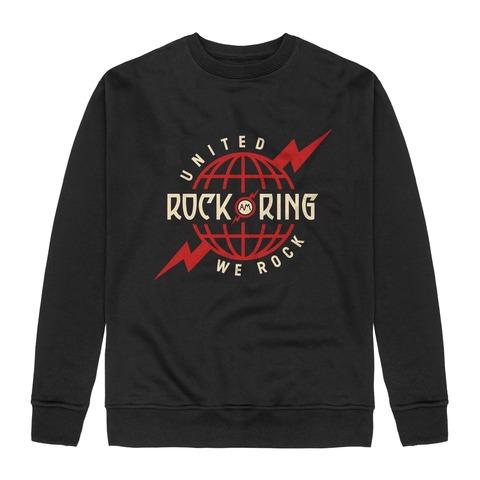 Rock The Globe von Rock am Ring Festival - Sweatshirt jetzt im Rock am Ring Telekom Magenta Shop