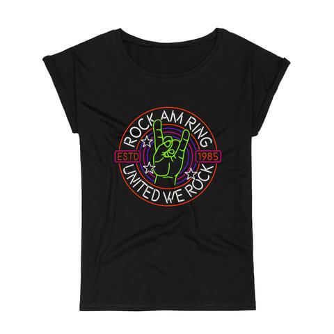 √Rock Hand United von Rock am Ring Festival - T-Shirt jetzt im Rock am Ring Telekom Magenta Shop